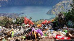 sampah Gunung Rinjani