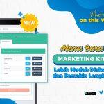 Download Media Promosi melalui menu Marketing Kit